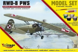 MODEL DO SKLEJANIA RWD-8 PWS model set