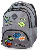 PLECAK COOLPACK CP BADGES GREY 30L BENTLEY XL