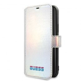 ETUI CASE IPHONE 11 PRO MAX GUESS SILVER