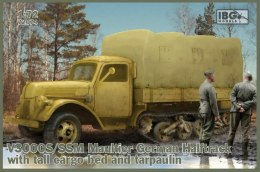 MODEL  V3000S/SSM Maultier German Halftruck