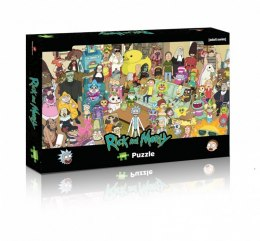 PUZZLE 1000 ELEMENTÓW RICK AND MORTY