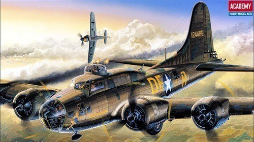 MODEL PLASTIKOWY ACADEMY B-17F Memphis Be lle