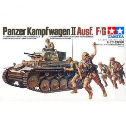 MODEL DO SKLEJANIA GERMAN PZKPFW II KIT