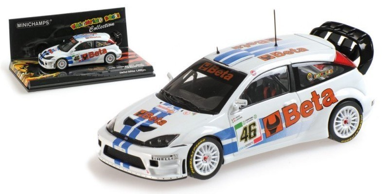 MODEL FORD FOCUS RS WRC BETA