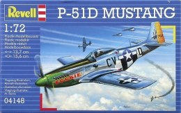 MODEL DO SKLEJANIA P-51D Mustang