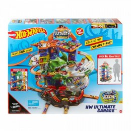 ZESTAW GARAŻ CITY MEGARAZ T-REXA HOT WHEELS