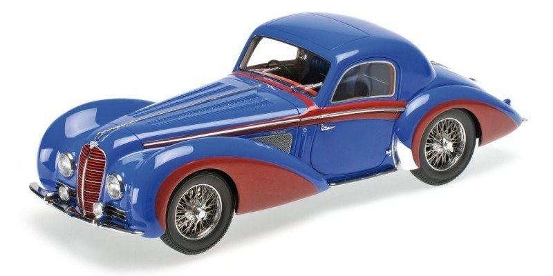 MODEL DELAHAYE TYPE 145 V-12 COUPE