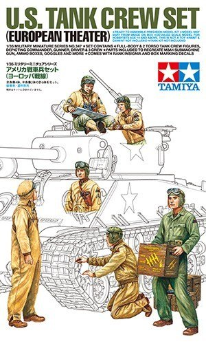 MODEL PLASTIKOWY US Tank Crew European Theater