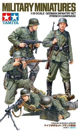 MODEL PLASTIKOWY German Infantry Set (French Campaign)